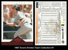 1997 Score Orioles Team Collection #7
