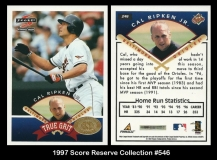 1997 Score Reserve Collection #546