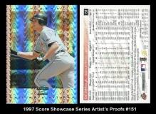 1997 Score Showcase Series Artists Proofs #151