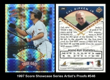 1997 Score Showcase Series Artists Proofs #546