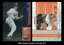 1997 Select Artists Proofs #71