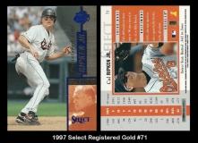 1997 Select Registered Gold #71