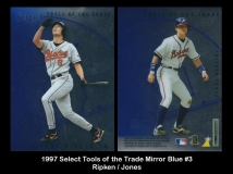 1997 Select Tools of the Trade Mirror Blue #3