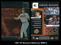 1997 SP Marquee Matchups #MM14