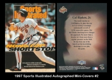 1997 Sports Illustrated Autographed Mini-Covers #2