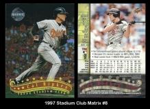 1997 Stadium Club Matrix #8