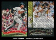 1997 Stadium Club Members Only #8