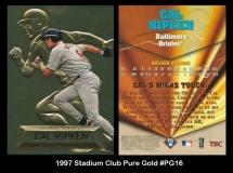 1997 Stadium Club Pure Gold #PG16