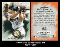1997 Studio Master Strokes #11