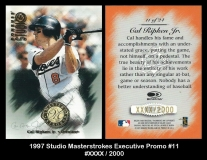 1997 Studio Masterstrokes Executive Promo #11