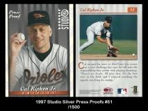 1997 Studio Silver Press Proofs #51