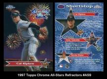1997 Topps Chrome All-Stars Refractor #AS9