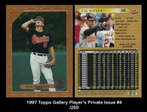 1997 Topps Gallery Players Private Issue #4