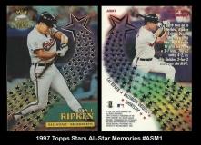 1997 Topps Stars All-Star Memories #ASM1