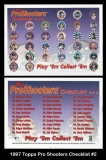 1997 Topps Pro Shooters Checklist #2