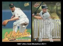 1997 Ultra Gold Medallion #G11