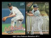 1997 Ultra Platinum Medallion #P11