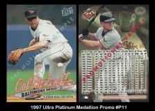 1997 Ultra Platinum Medallion Promo #P11