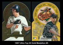 1997 Ultra Top 30 Gold Medallion #5