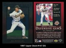 1997 Upper Deck #147 DG