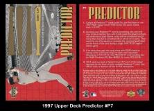 1997 Upper Deck Predictor #P7