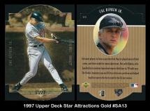 1997 Upper Deck Star Attractions Gold #SA13