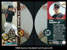 1998 Aurora Hardball Cel-Fusions #4