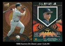 1998 Aurora On Deck Laser Cuts #4
