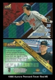 1998 Aurora Pennant Fever Red #8