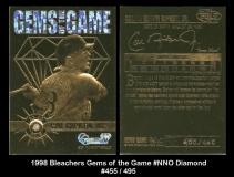 1998 Bleachers Gems of the Game #NNO Diamond