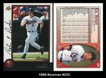 1998 Bowman #222