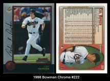 1998 Bowman Chrome #222