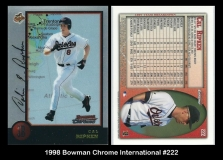 1998 Bowman Chrome International #222