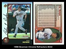 1998 Bowman Chrome Refractors #222