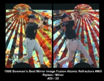 1998 Bowmans Best Mirror Image Fusion Atomic Refractors #MI5