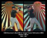 1998 Bowmans Best Mirror Image Fusion Refractors #MI5