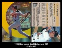 1998 Bowmans Best Refractors #11