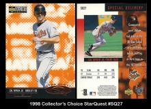 1998 Collector's Choice StarQuest #SQ27