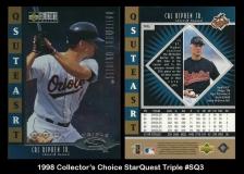 1998 Collector's Choice StarQuest Triple #SQ3