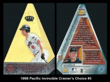 1998 Pacific Invincible Cramers Choice #3