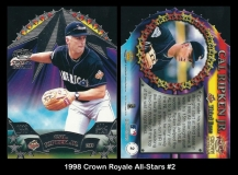 1998 Crown Royale All-Stars #2