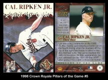 1998 Crown Royale Pillars of the Game #5