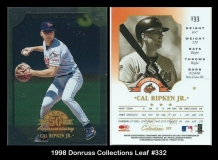 1998 Donruss Collections Leaf #332