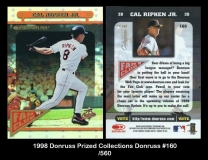 1998 Donruss Prized Collections Donruss #160