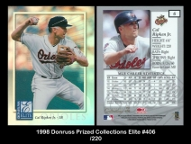 1998 Donruss Prized Collections Elite #406