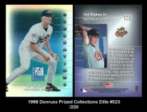 1998 Donruss Prized Collections Elite #523