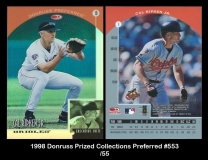 1998 Donruss Prized Collections Preferred #553