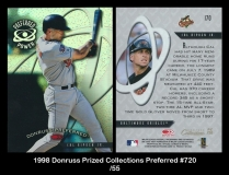 1998 Donruss Prized Collections Preferred #720