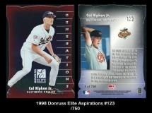 1998 Donruss Elite Aspirations #123