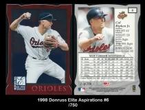1998 Donruss Elite Aspirations #6